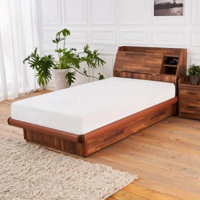 時尚屋 亞維斯 3.5尺積層木加大單人後掀床 UZR8-3-3.5不含床頭櫃 床墊