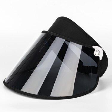偏光遮陽帽女防曬紫外線男夏季騎車太陽帽遮臉面罩防護面具防飛沫 伊卡萊  聖誕節禮物