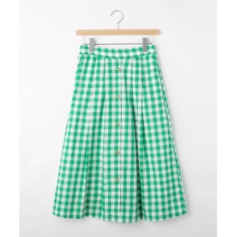OFF PRICE STORE(Ladies)(オフプライスストア(レディース)) KOEギンガム前ボタンスカート