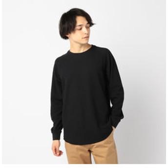 【FREDY & GLOSTER:トップス】ワッフル ロングスリーブTシャツ