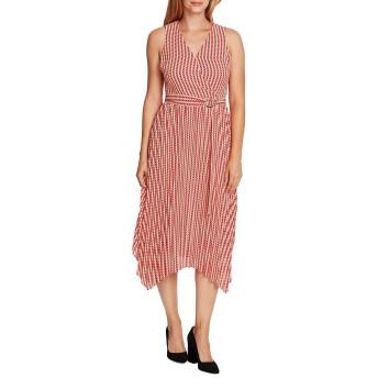 [ヴィンスカムート] レディース ワンピース Geometric-Print Midi Dress [並行輸入品]