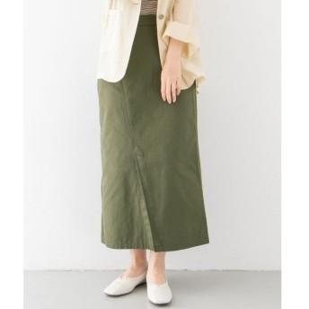 KBF / ケービーエフ カラーステッチサロン付きスカート