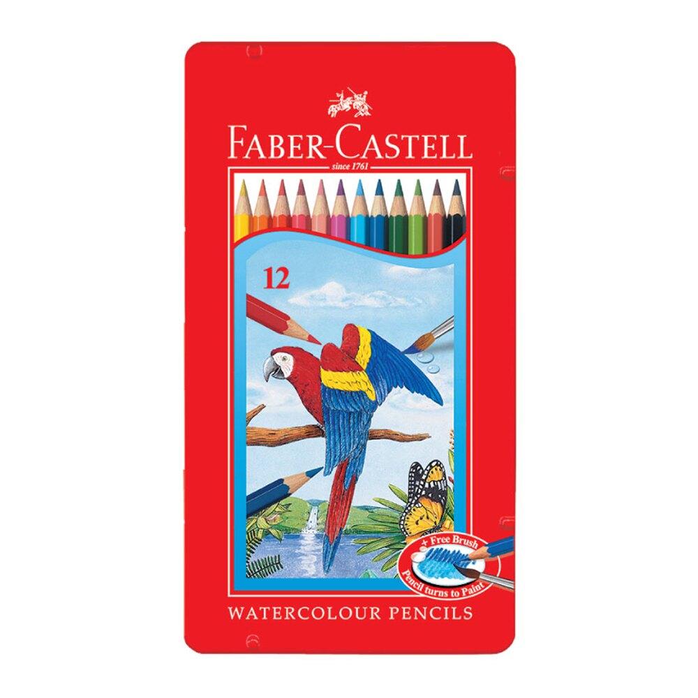 色鉛筆 FABER-CASTELL輝柏 115913 12色水性色鉛筆【文具e指通】  量販團購