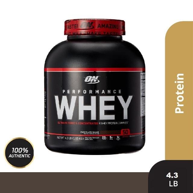 《美國歐恩-奧普特蒙》PERFORMANCE WHEY 乳清蛋白4.3磅(巧克力)