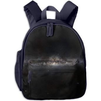 キッズ リュックサック バックパック銀河 星空 天 おしゃれ子供用バッグ カバン 遠足 通学 旅行 幼稚園バッグ 男の子 女の子