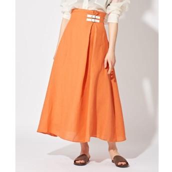 【ウィム ガゼット/Whim Gazette】 【O'NEIL OF DUBLIN】ロングAラインスカート
