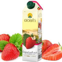 【稑珍】皇家農場鮮果汁 1000ml-草莓汁