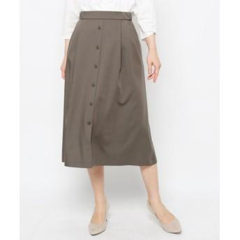 esche(エッシュ) フロントボタンストレッチスカート