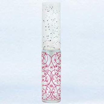 【ヤマダアトマイザー】グラスアトマイザー プラスチックポンプ 柄 50441 アラベスク レッド 4ml