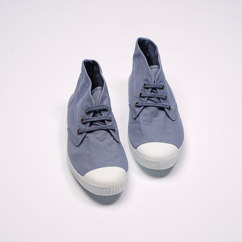 西班牙帆布鞋 CIENTA 60997 90 薰衣草色 經典布料 大人 Chukka