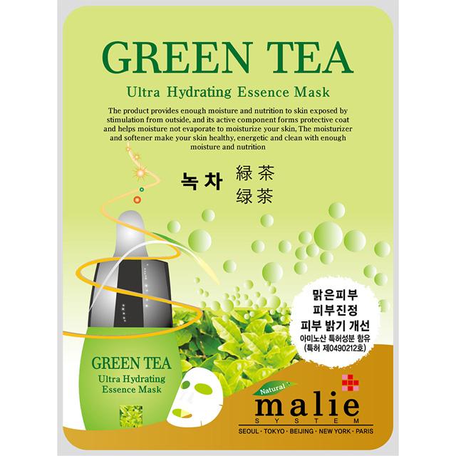 malie媄莉保濕精華面膜-綠茶 20ml