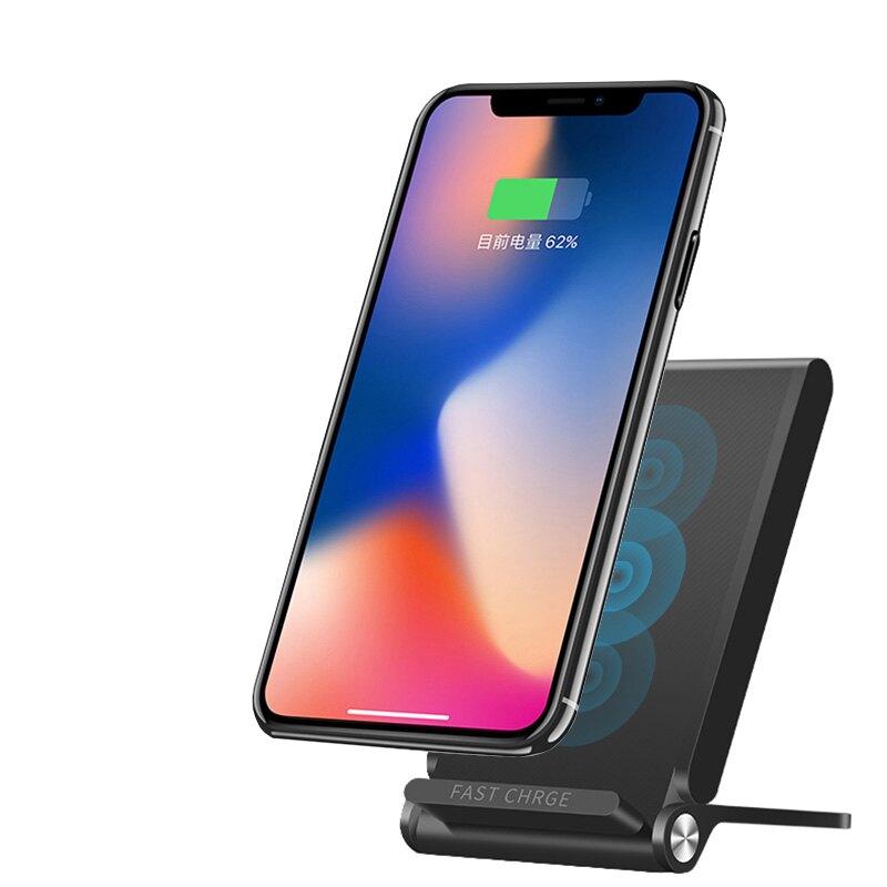 AHEAD領導者 QC2.0 3線圈折疊快速無線充電板/快充板 收納式無線充電器 無線充電座 iPhone8/X/note8適用 T330