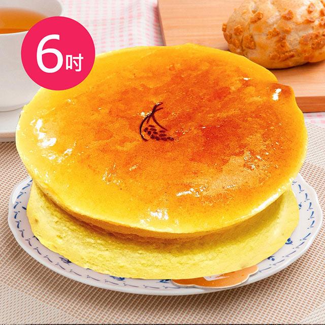 樂活e棧-母親節蛋糕-就是單純乳酪蛋糕1顆(6吋/顆)