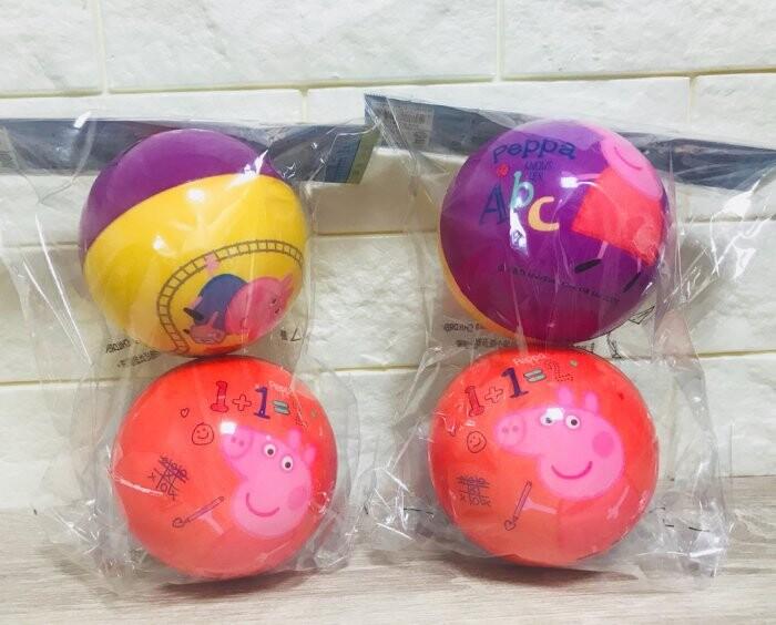正版雷標佩佩豬軟球2入組