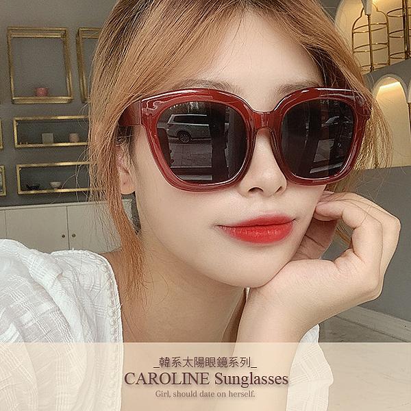 《Caroline》年度最新網紅款潮流行百搭抗UV時尚太陽眼鏡 71919