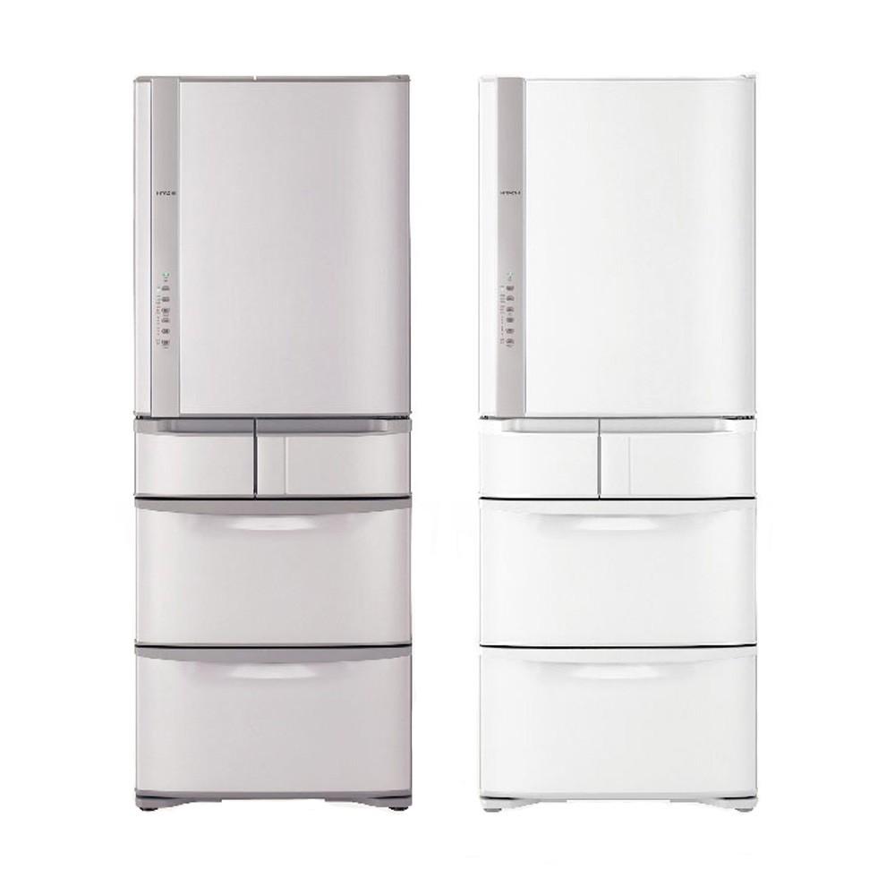 【HITACHI】日立 563公升日本原裝變頻五門冰箱 RS57HJ 星燦白/香檳不鏽鋼【詢問給你超低價】
