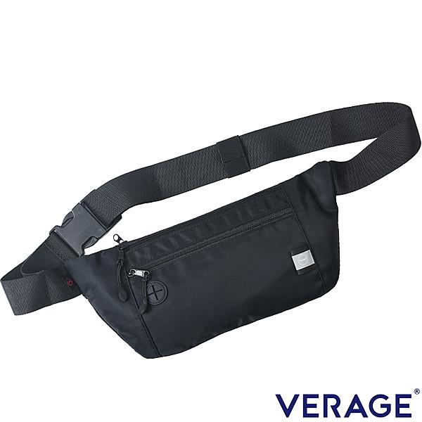 Verage 維麗杰 RFID輕便隨身腰包(黑)