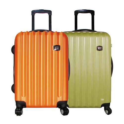 時尚輕20吋硬殼行李箱-多款顏色隨機出貨【愛買】