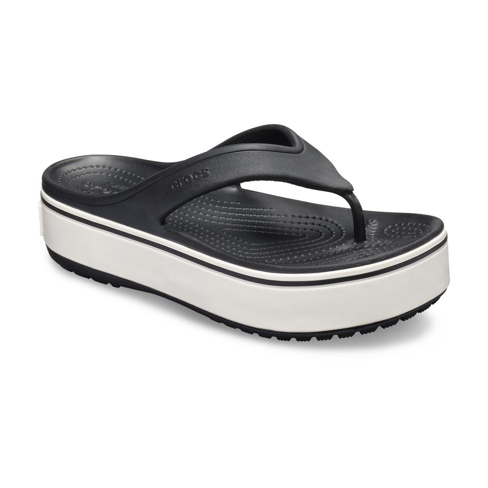 Crocs卡駱馳 中性鞋 厚底卡駱班人字拖 205681