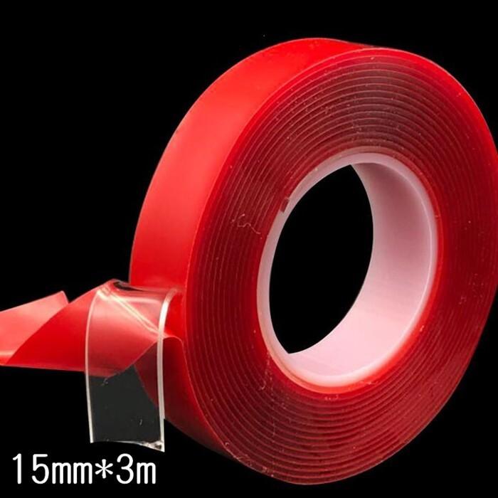 萬用雙面膠 15mm*3m