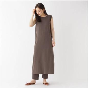 【ドレステリア/DRESSTERIOR 】 【洗える】バックシャンニットドレス
