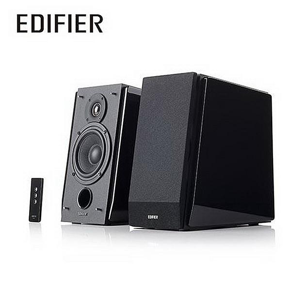 Edifier 二件式喇叭 R1800TIII 2.0 聲道多媒體兩件式喇叭 附遙控.鋼琴烤漆