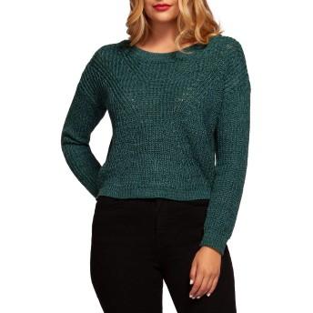 [デックス] レディース ニット&セーター Cable-Knit Cotton-Blend Sweater [並行輸入品]