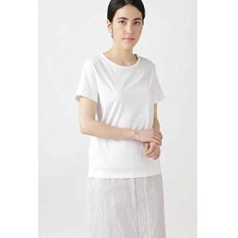 ヒューマンウーマン(HUMAN WOMAN) 新きょう綿Tシャツ【シロ/M】