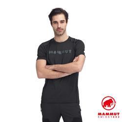 【瑞士 Mammut 長毛象】Splide Logo T-Shirt 輕便排汗短T  男款 #1017-00222