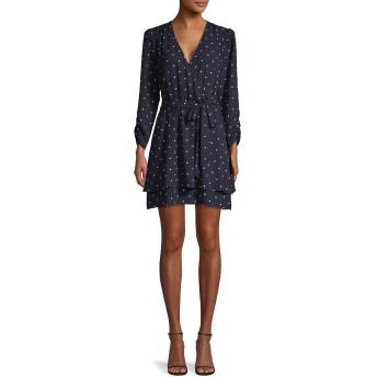 [ワンステイト] レディース ワンピース Polka Dot-Print Mini Dress [並行輸入品]