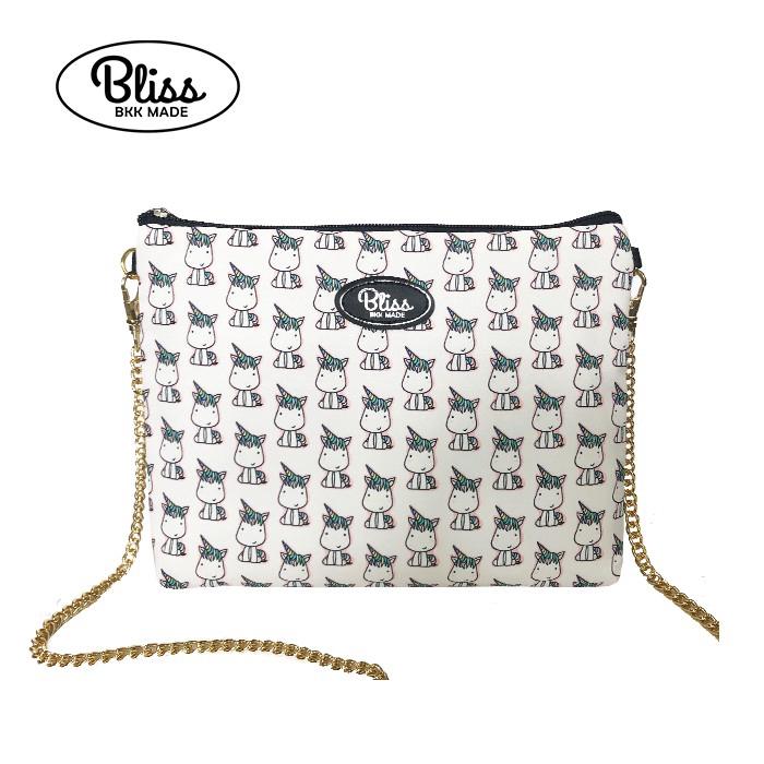 泰國Bliss BKK包 白色獨角獸 可肩背 可手拿 泰國必買 廠商直送 現貨