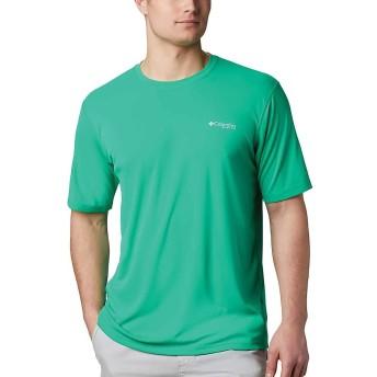 Columbia(コロンビア) トップス Tシャツ Columbia Men's PFG Zero Rules SS Shirt Dark Lime メンズ [並行輸入品]