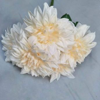 人工菊球花偽のアジサイブーケ2個プレゼント重要な人のためのホームオフィスのコーヒー家パーティーや結婚式のための栄光の道徳