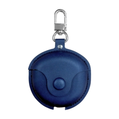 HUAWEI FreeBuds 3專用 皮革保護套 (附吊環) -午夜藍
