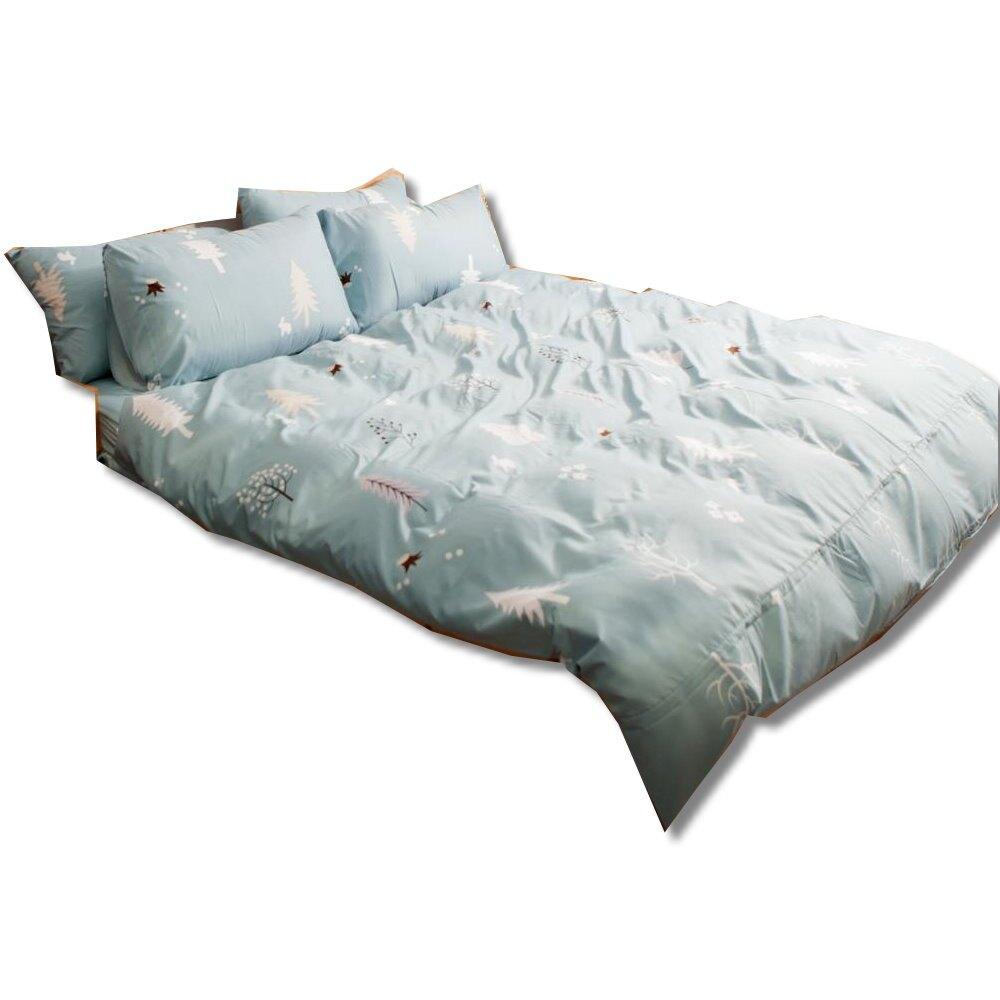 【LUST】 北歐森林 新生活eazy系列-床包/枕套/被套組(各尺寸)、台灣製