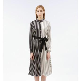 【ラブレス/LOVELESS】 スプリット バイカラー ドレス