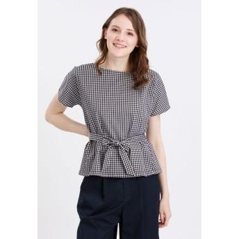 MACKINTOSH PHILOSOPHY ジャージーリボンプルオーバー Tシャツ・カットソー,ギンガムチェック