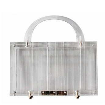 パッケージ ハンドバッグさんファッション絶妙な透明なアクリルワイルド気質の高級レジャーライトクラッチ17  5  11センチメートル パッケージ