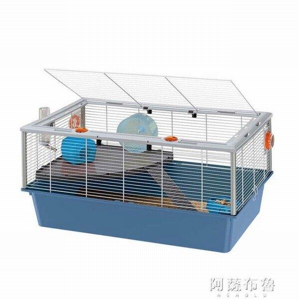 倉鼠籠 倉鼠籠子超大別墅豪華套裝夢幻大城堡進口雙層基礎籠  創時代 新年春節  送禮