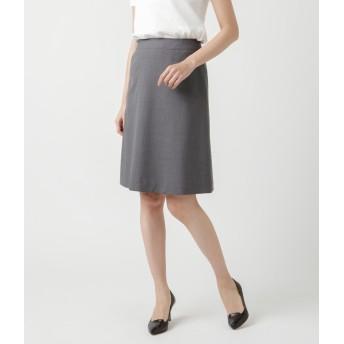 NEWYORKER(ニューヨーカー)/【ウォッシャブル】コードストライプ Aラインスカート