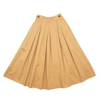【F.O.Online Store:スカート】タックボリュームスカート_ママ