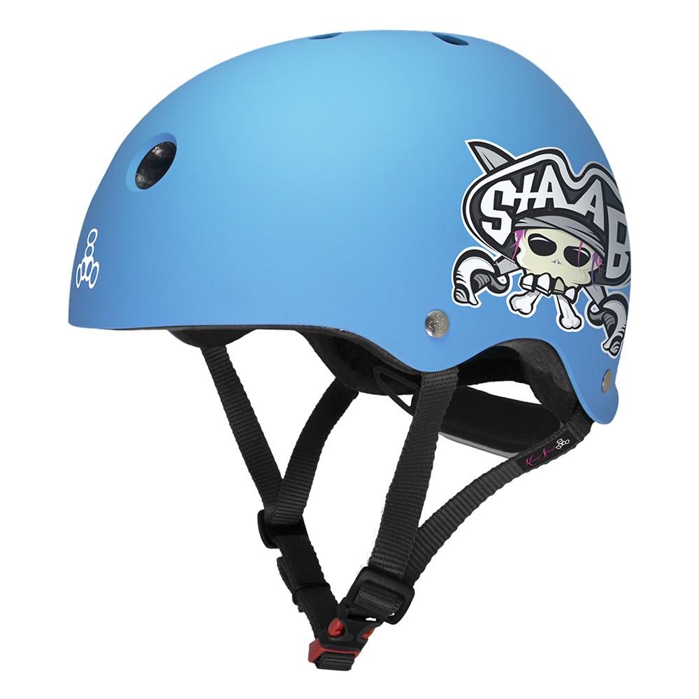 Triple 8(長板滑板/ 交通板) - STABB X LIL 8 聯名款小童專用強化 EPS 頭盔 - LTS現貨