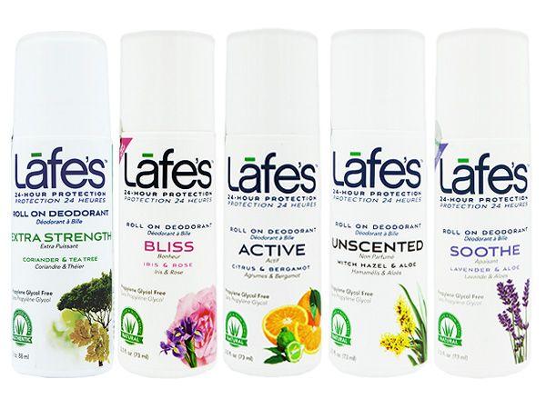 美國Lafe's organic~純自然體香劑88ml(滾珠型) 款式可選【D753109】