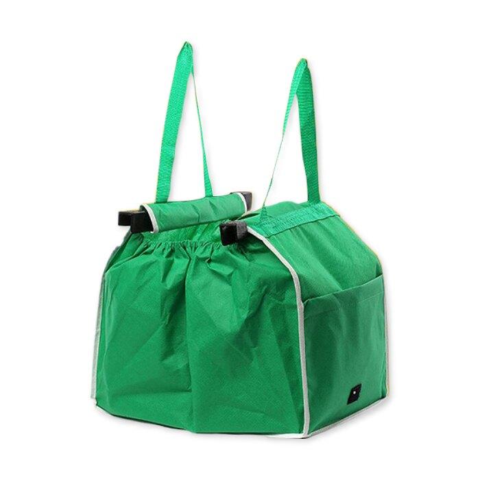 超市推車購物袋 環保大容量 環保袋 手提袋 收納袋 手推車置物袋 購物車袋