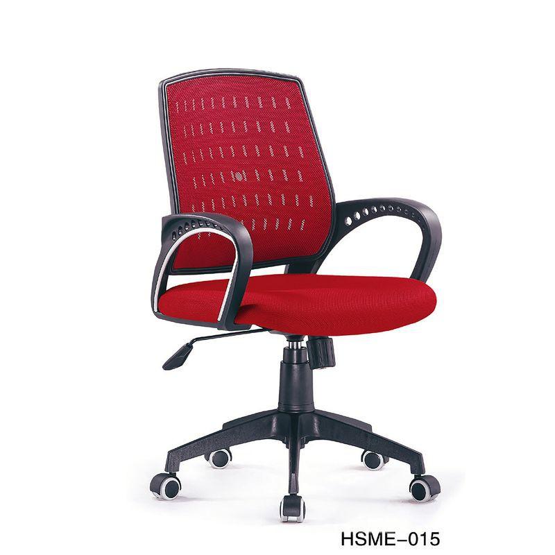 【YA641-5】HS-ME015 辦公椅(紅色)