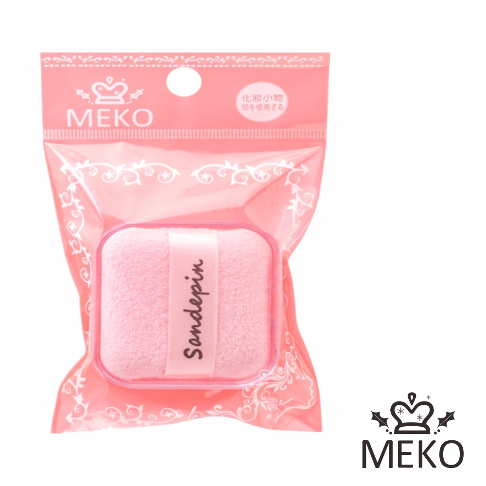 MEKO 盒裝細緻粉撲