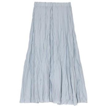 新規会員登録で3,000円OFF!【ur's:スカート】ワッシャープリーツスカート