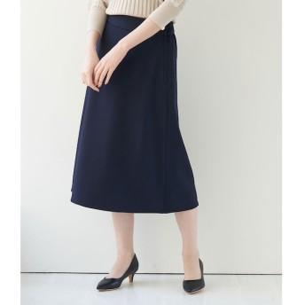 【ロペピクニック/ROPE' PICNIC】 【セットアップ対応】ダブルクロススカート