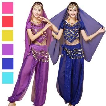 ハロウィン コスプレ レディース アラビアン コスチューム パーティー 仮装 かわいい 衣装 ベリーダンス