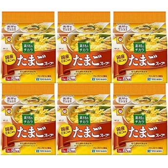 マルちゃん たまごスープ 5P×6袋